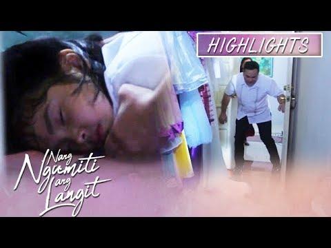 Mikmik passes out while being locked up  | Nang Ngumiti Ang Langit (With Eng Subs)
