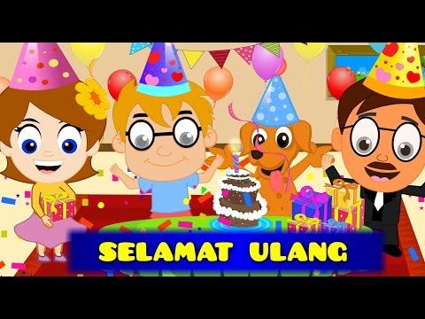 Selamat Ulang Tahun Panjang Umurnya 12 Lagu Anak Anak Kumpulan Happy Birthday Song In Bahasa