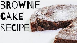 Chocolate Brownie Cake Recipe
