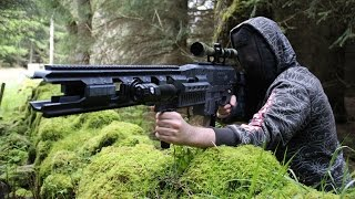 RORSCH MK1 RAIL GUN, 3D PRINTED VERSION