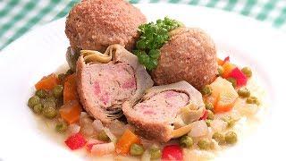 Alcachofas Rellenas de Carne al Estilo Andaluz