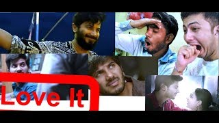 Dulquer Salmaan || Mammootty || Dulquer Salmaan Mashup 2017 || Reaction & Review || BY leJB ..