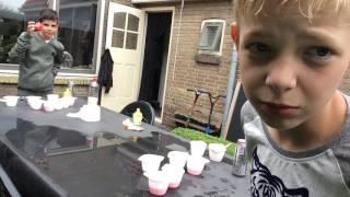 Beerpong challenge