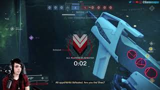 My first trials of the 9 match ever. Destiny 2