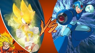 ARCHIE SONIC vs MEGA MAN X (Sega vs Capcom) Cartoon Fight Club Episode 166 REACTION!!!