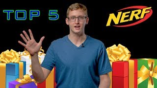 TOP 5 Nerf Gifts For Christmas 2018!