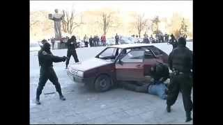 Policias rusos vs policias mexicanos