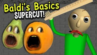 BALDI'S BASICS SUPERCUT! (Annoying Orange)
