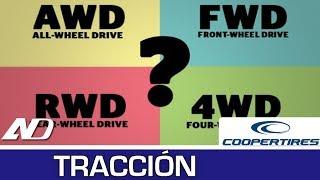¿Qué diferencia hay entre 4x4, AWD, RWD y FWD? Tracción en Cooper Consejos