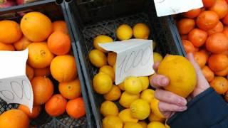Рынок Армении. Ванадзор. Кировакан. Сколько стоит зелень?