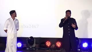 Simbhu reveals that he teased Dhanush in early stage of his Career   Sakka Podu Podu Raja   nba 24x7