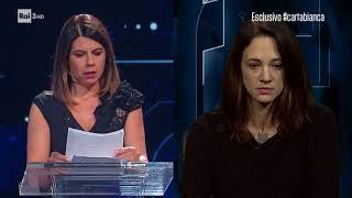 Geppi Cucciari - Le testimonianze delle donne molestate - #cartabianca 17/10/2017