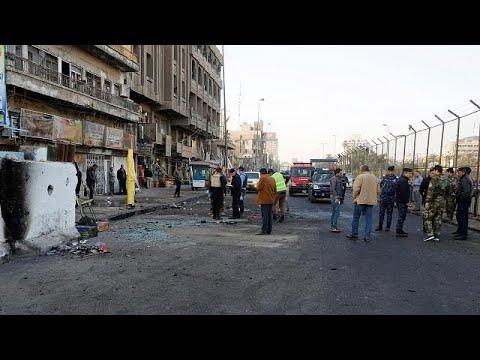 Xxx Mp4 Iraq Dozens Killed As Suicide Bombers Hit Baghdad Market 3gp Sex
