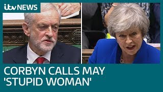Did Jeremy Corbyn call Theresa May a