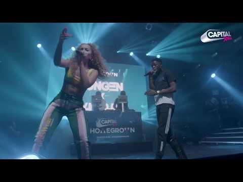 Yxng Bane & Ella Eyre Performing 'Answerphone' At Capital XTRA Homegrown Live