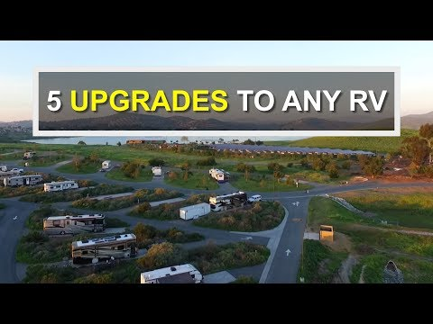5 Basic UPGRADES For Your RV or Camper RV Living