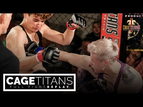 Cage Titans XXXV: Stephanie McTighe vs Taylor Thompson