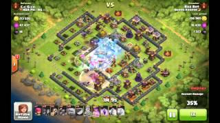 CoC [Queen Keeper] Boa Bet vs Cục Gạch [Hoa Phượng Đỏ]