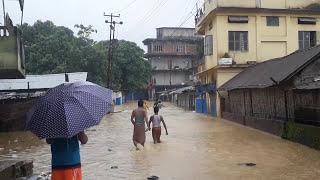 DIMAPUR||DOBHINALA FLOOD||POOR DRAINAGE||19-07-2017