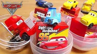 Disney Cars 3 Mack hyper truck Lightning McQueen Capsule toy for Kids