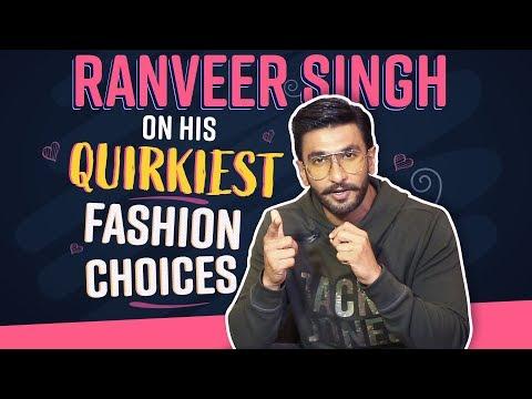 Xxx Mp4 Ranveer Singh On His Quirkiest Fashion Choices Bollywood Pinkvilla 3gp Sex