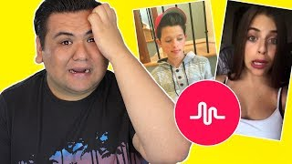 Reacting To My Fans Musical.ly!!!