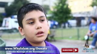 I first started giving dawah when I was 5 | WhyIslam FIFA Highlights #15