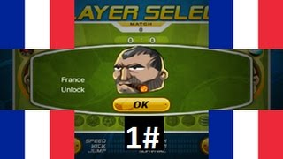 Head Soccer - How to Unlock France 1#