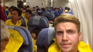 Cathay Pacific Emergency Landing - CX884 Hong Kong - Los Angeles