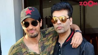 Sidharth Malhotra Gets A Special Advice From Mentor Karan Johar