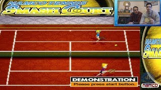 Namco Tennis Smash Court (PS1) Gameplay Español | 2 vs CPU