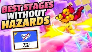 The BEST Stages Without HAZARDS in Smash Bros Ultimate!