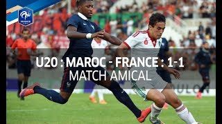 U20, Amical : Maroc - France (1-1), le résumé I FFF