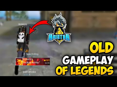 OLD GAMEPLAY OF LEGENDS 😌🔥