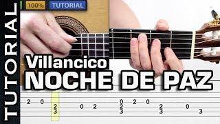 Aprende NOCHE DE PAZ en Fingerpicking MUY FACIL! VILLANCICO PARA GUITARRA