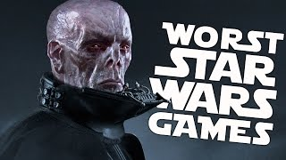 10 Worst Star Wars Games of All Time