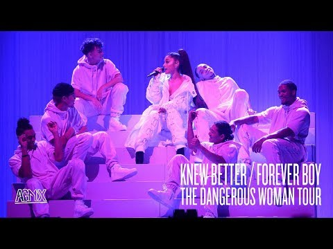 Ariana Grande - Knew Better  Forever Boy (Live at The Dangerous Woman Tour) [North American Leg]