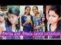 Amrita and Amala latest tiktok collections