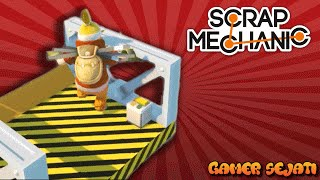 LIFT ABAL-ABAL !!!  Part-5  - Scrap Mechanic Indonesia -