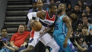 Kemba Walker Forces Overtime vs John Wall! Wizards vs Hornets 2017-18 Season