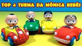 TOP 4 TURMA DA MÔNICA BEBÊS