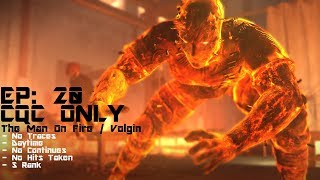 [MGS5: TPP] Best CQC Punch Ever (The Man On Fire / Volgin) - Episode 20: Voices ' S Rank | No Traces