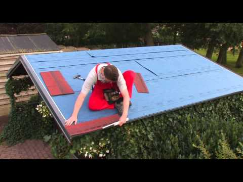 Fai da te Come posare le tegole canadesi Easy Shingle sopra il vostro tetto
