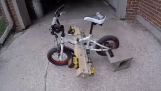 Dual Powered Drill Bike 25+ MPH!