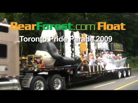 The Making of the BearForest Float Gay Pride Toronto 2009