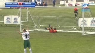 Netherlands vs Ireland - 1/4 Finals - highlights - Danone Nations Cup 2013