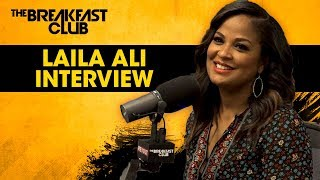 Laila Ali Talks Her Love For Food Before Boxing, Her New Book + More