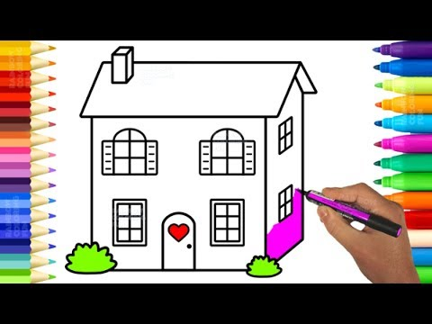Xxx Mp4 Cute Baby Doll House Coloring Pages Learn Colors And Drawing For Kids 3gp Sex