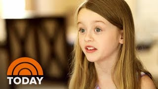 8-Year-Old Girl Battling A Rare Brain Disease She Calls 'Awesome'   TODAY