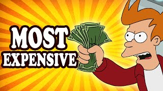 """Top 10 Most Expensive """"Everythings"""" in Video Games — TopTenzNet"""